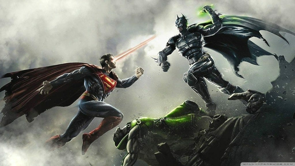 Injustice: Gods Among Us Superman-vs-Batman