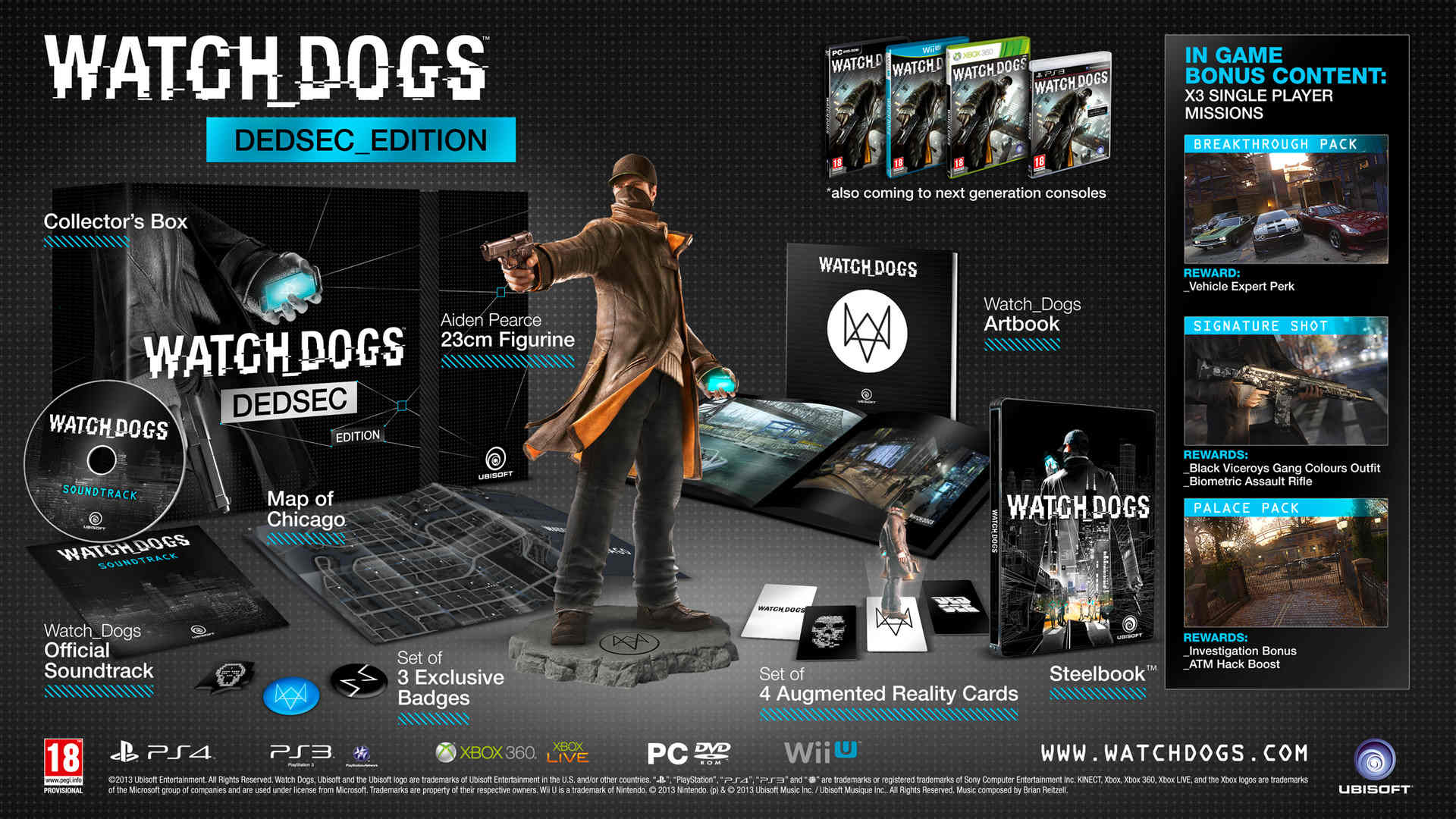 Watch Dogs Items