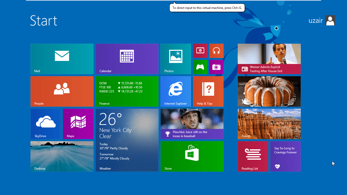how to return to windows 8 from 8.1
