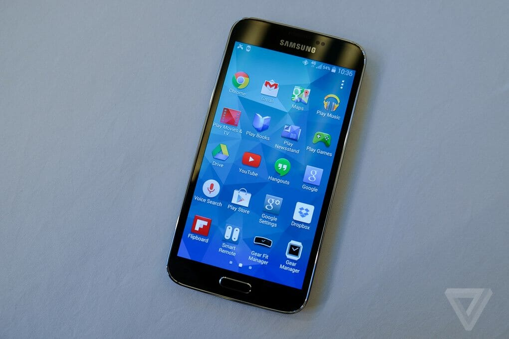 how to show date time and weather on galaxy s5
