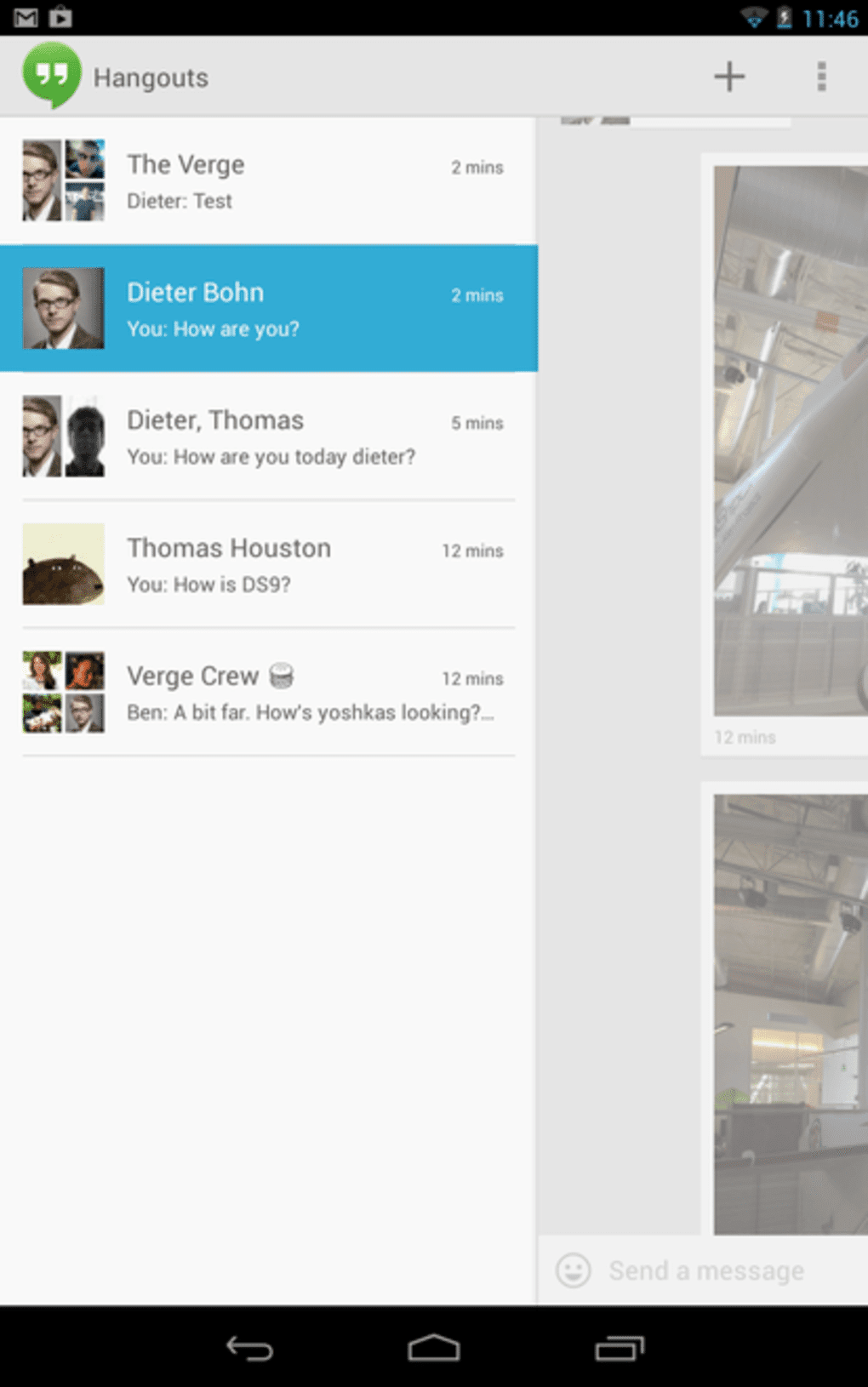 Download Free Unified Messaging App Google Hangouts for