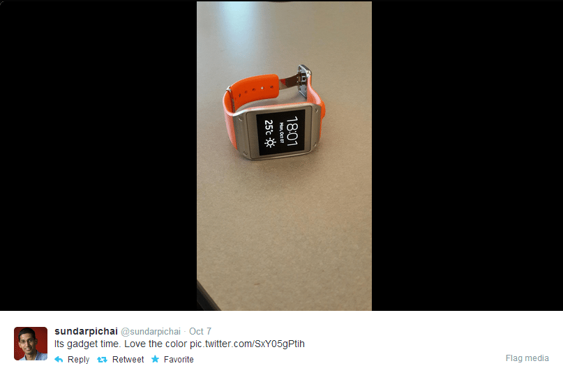 google smartwatch prototype