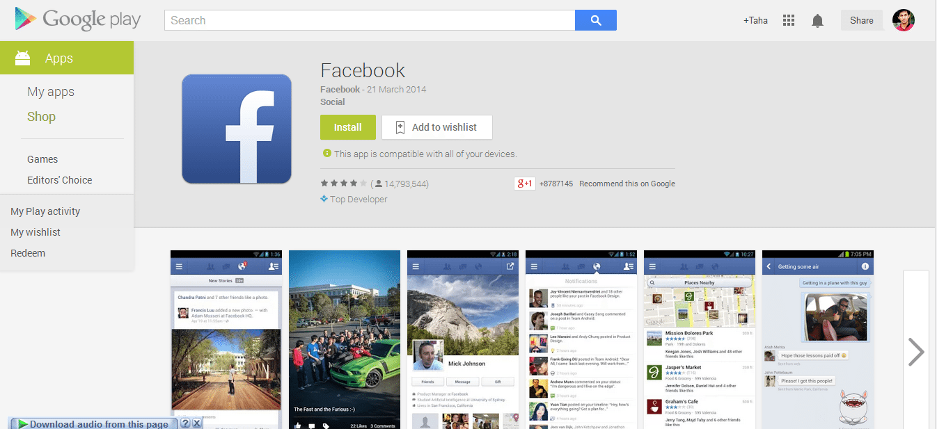 Get new Facebook app for Android Now -TheNerdMag