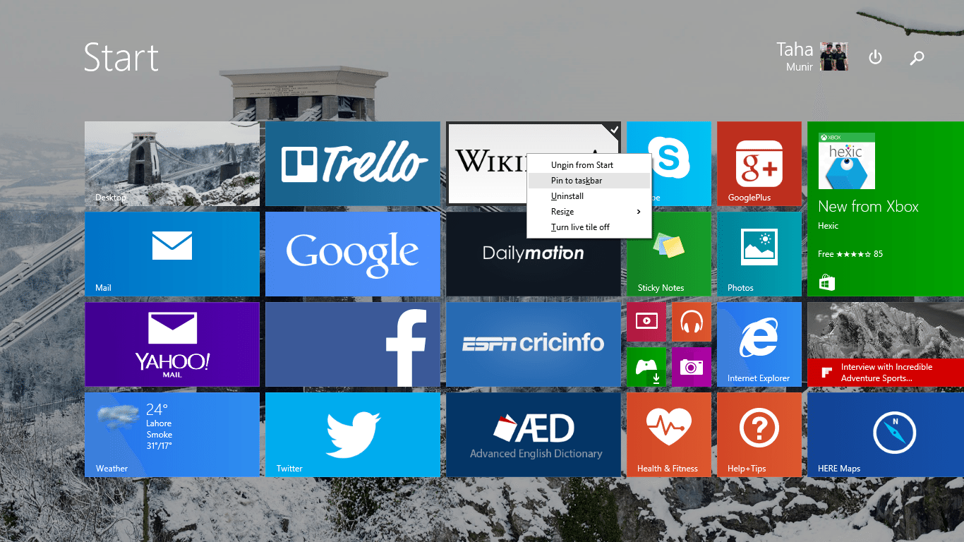 pin-apps-to-taskbar