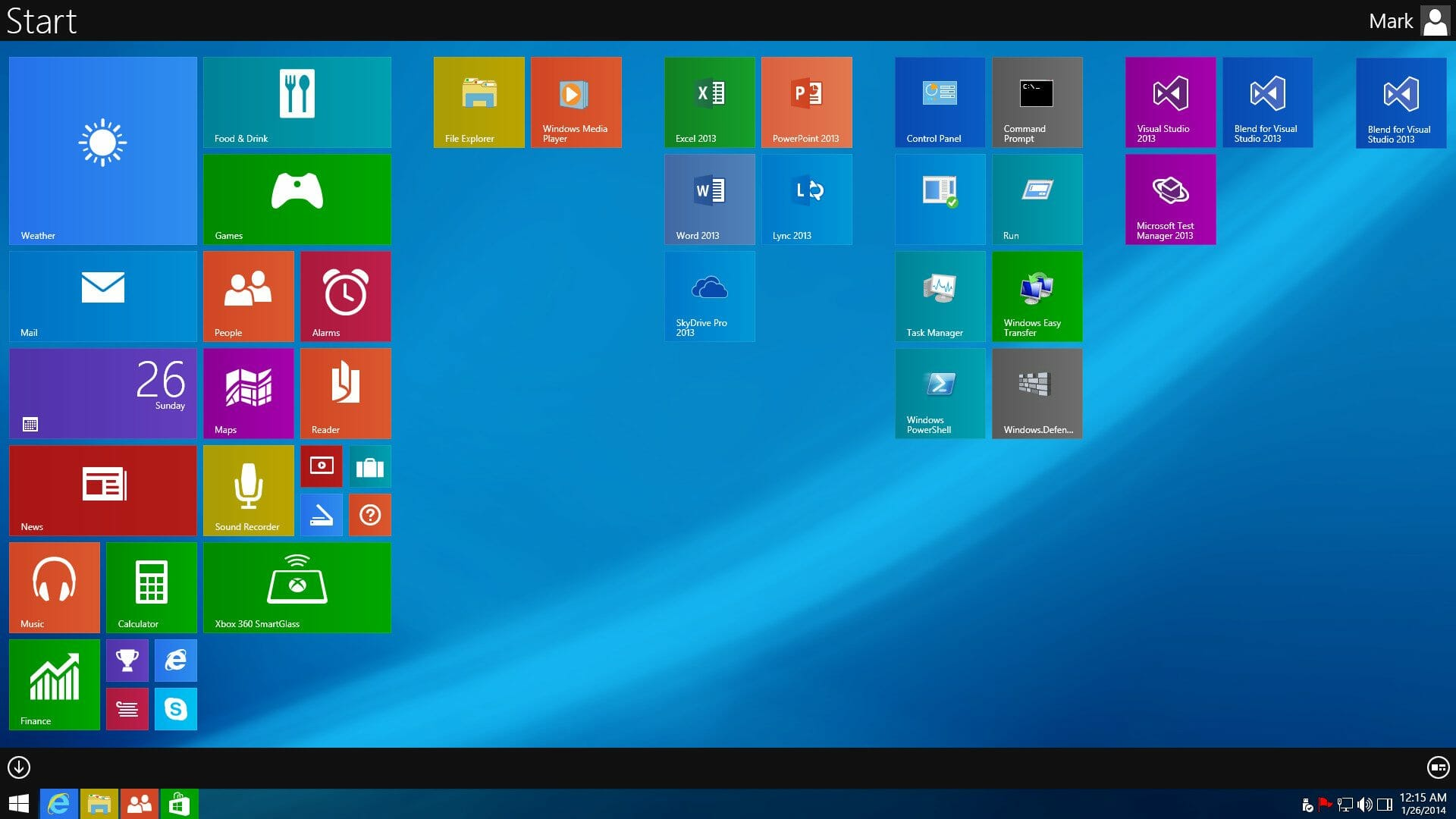 windows 9 concept images leaked shows new start screen